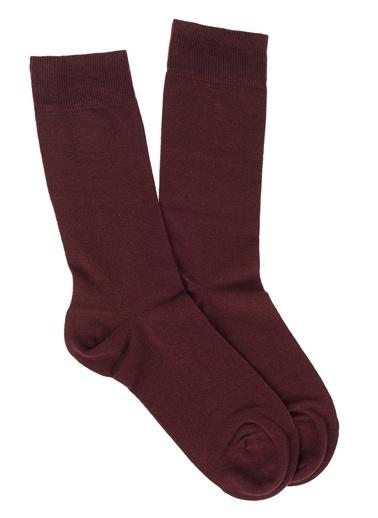 Divarese Çorap Bordo